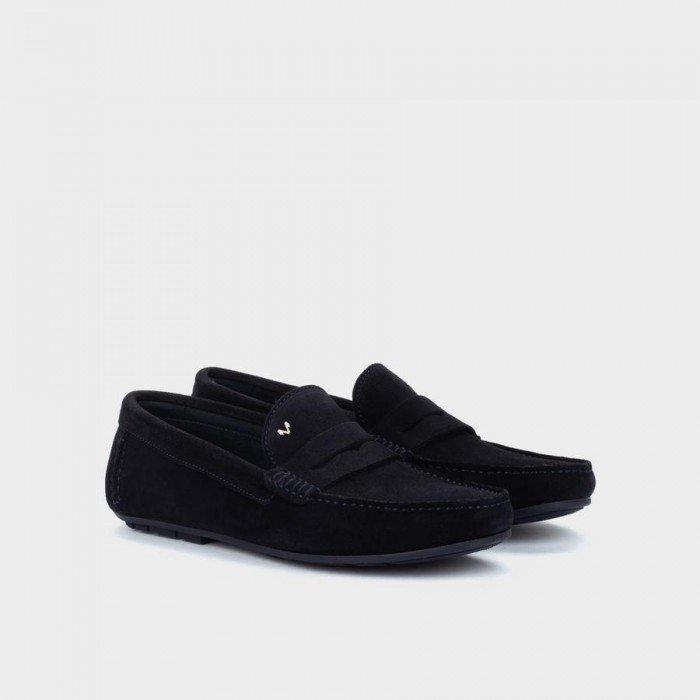 Zapatos Castellanos Martinelli Pacific 1411-2496X Azul Marino