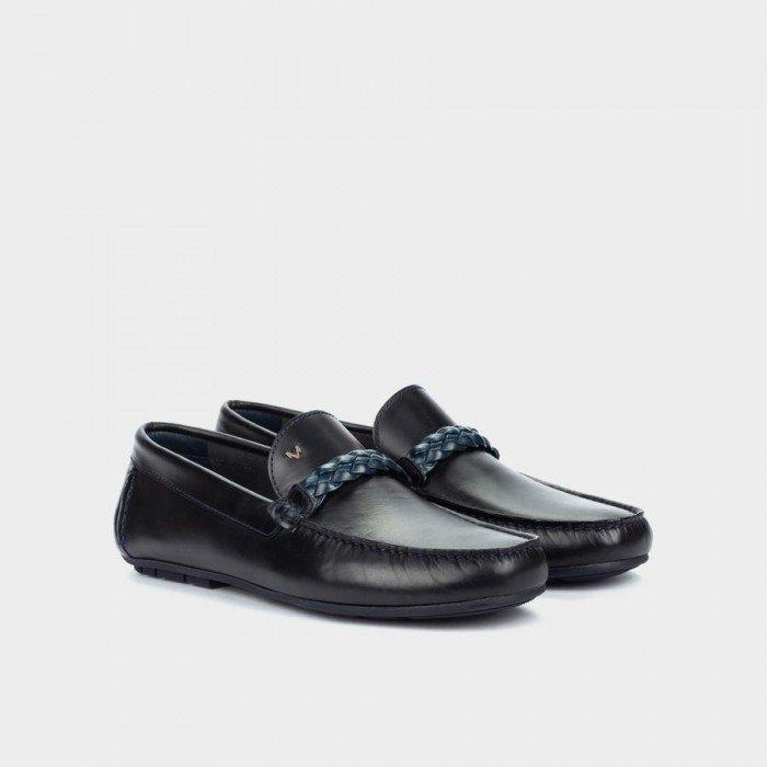 Zapatos Castellanos Hombre Martinelli Pacific 1411-2509B Azul Marino