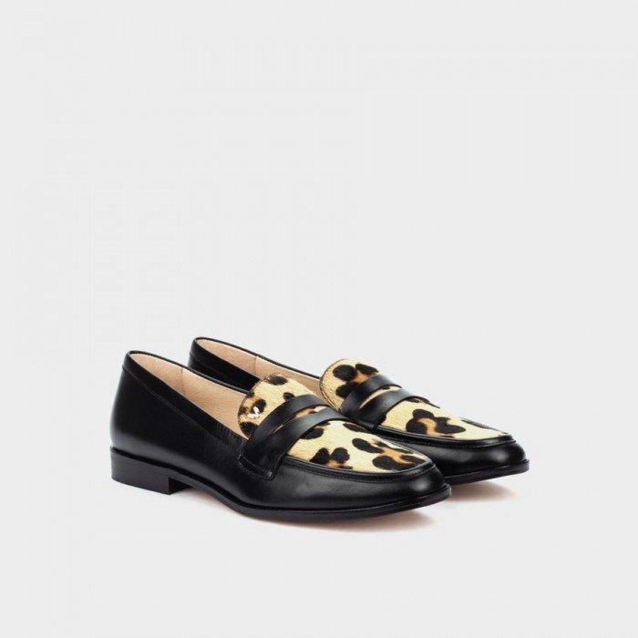 Zapatos Planos Mujer Martinelli Viera 1369-4148J Beige/Negro