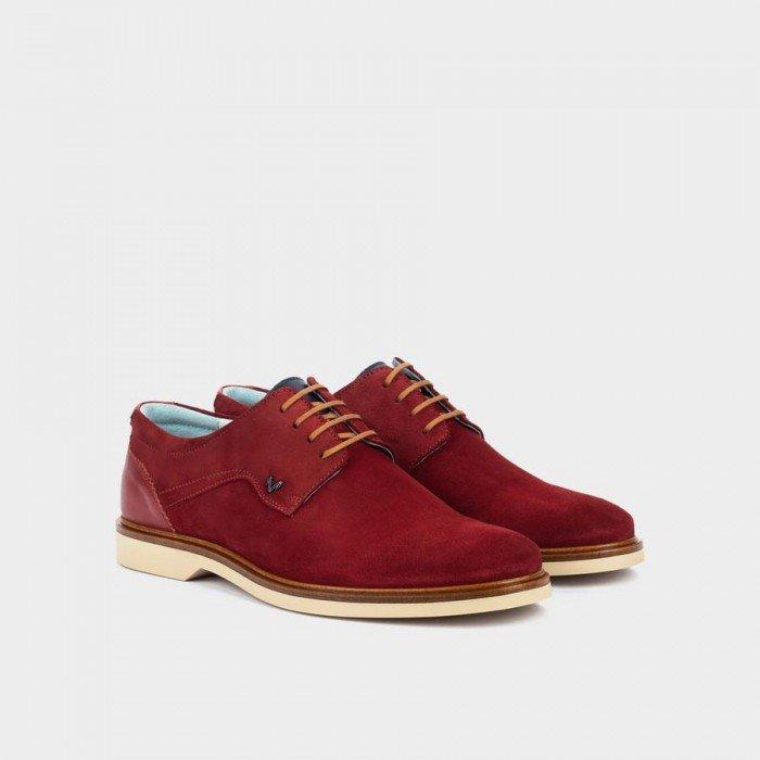 Zapatos Hombre Martinelli Lenny 1384-1657X2 Rojo