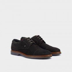 Zapatos Blucher Hombre Martinelli Lenny 1384-1683X Gris.