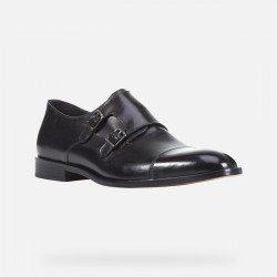 Zapatos Hombre Geox Saymore Negro