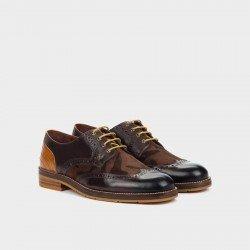 Zapatos Blucher Hombre Martinelli Hambury 1460-1148S Marrón