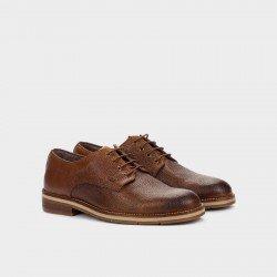 Zapatos Hombre Blucher Martinelli Hambury 1460-1149D Cuero