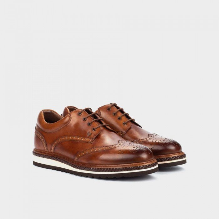 Zapatos Blucher Hombre Martinelli Dutch 1433-0949L Cuero Tan
