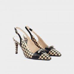 Zapatos Salón Mujer Martinelli Selena 1365-3969G Beige