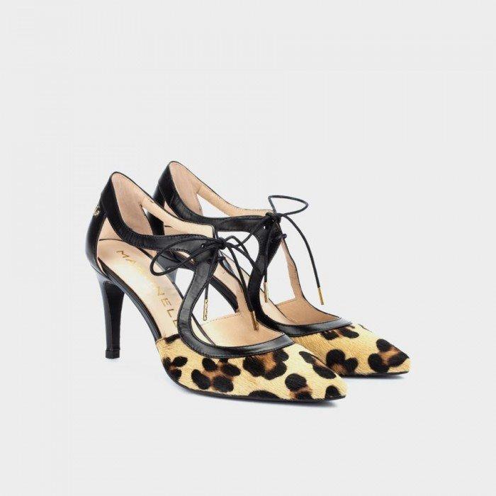 Zapatos Salón Mujer Martinelli Selena 1365-4257J Beige