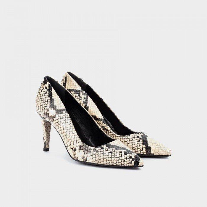 Zapatos Salón Mujer Martinelli Selena 1365-3486S Beige