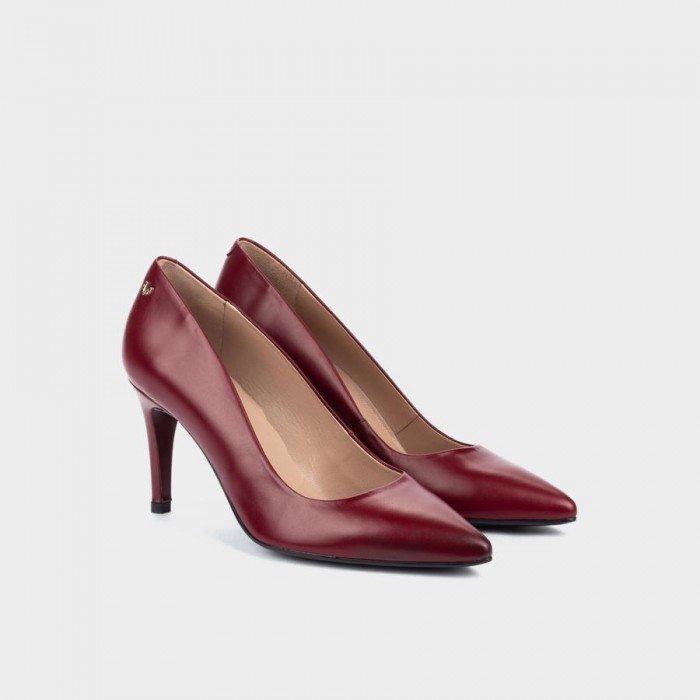 Zapatos Salón Mujer Martinelli Selena 1365-3486N Rojo Rioja