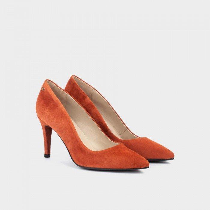 Zapatos Salón Mujer Martinelli Selena 1365-3486A Cuero Arcilla
