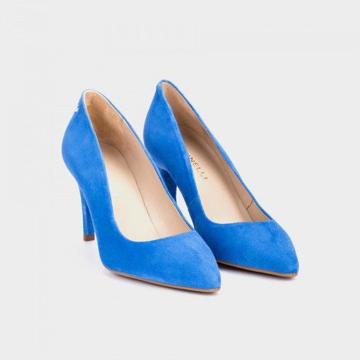 Zapatos Salón Mujer Martinelli Selena 1365-3486A Azul Blue