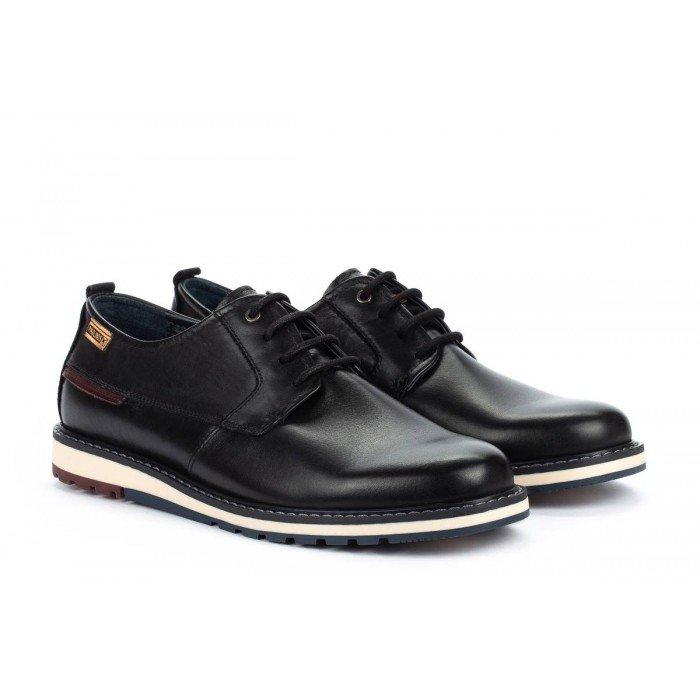 Zapatos Blucher Hombre Pikolinos Berna M8J-4314 Negro