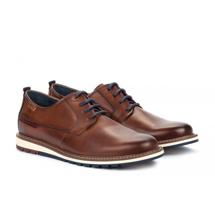 Zapatos Blucher Hombre Pikolinos Berna M8J-4314 Cuero