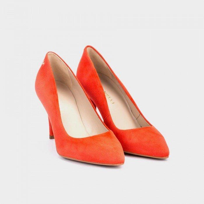 Zapatos Salón Mujer Martinelli Selena 1365-3486A Rojo Red