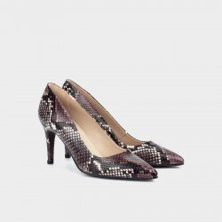 Zapatos Salón Mujer Martinelli Selena 1365-3486B Morado Púrpura