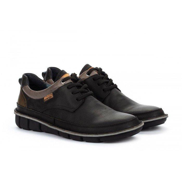 Zapatos Blucher Hombre Pikolinos Tudela M6J-4307NW Negro