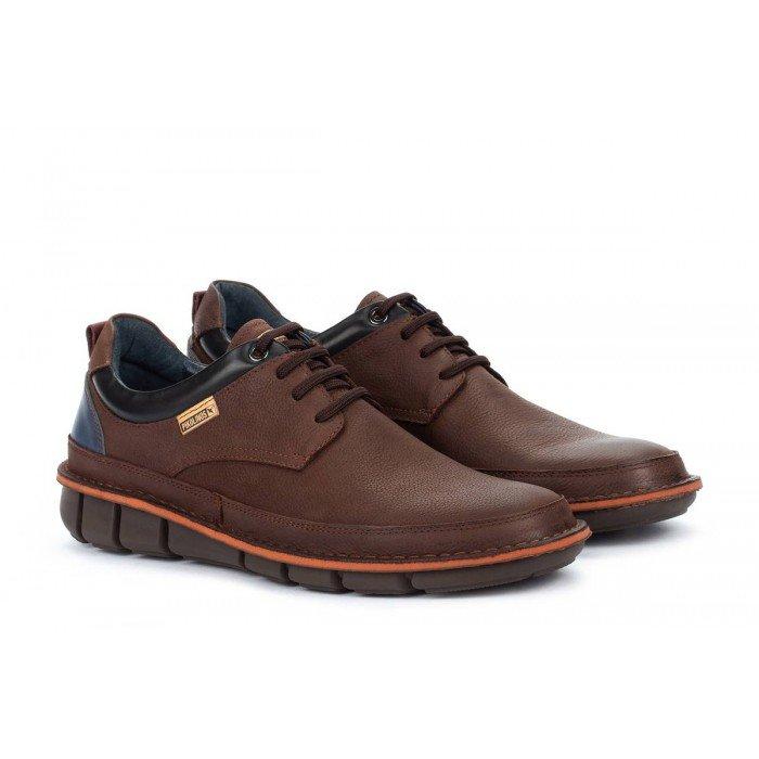 Zapatos Blucher Hombre Pikolinos Tudela M6J-4307NW Marrón