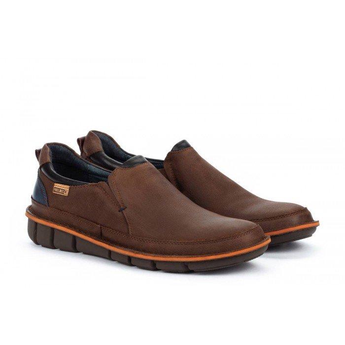 Zapatos Castellanos Hombre Pikolinos Tudela M6J-3191NW Marrón