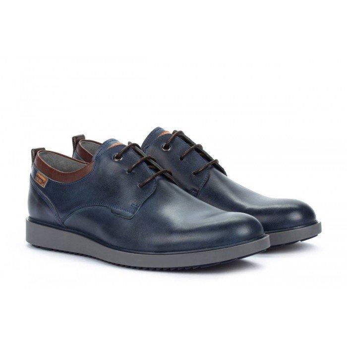Zapatos Blucher Hombre Pikolinos Corcega M2P-4325 Azul