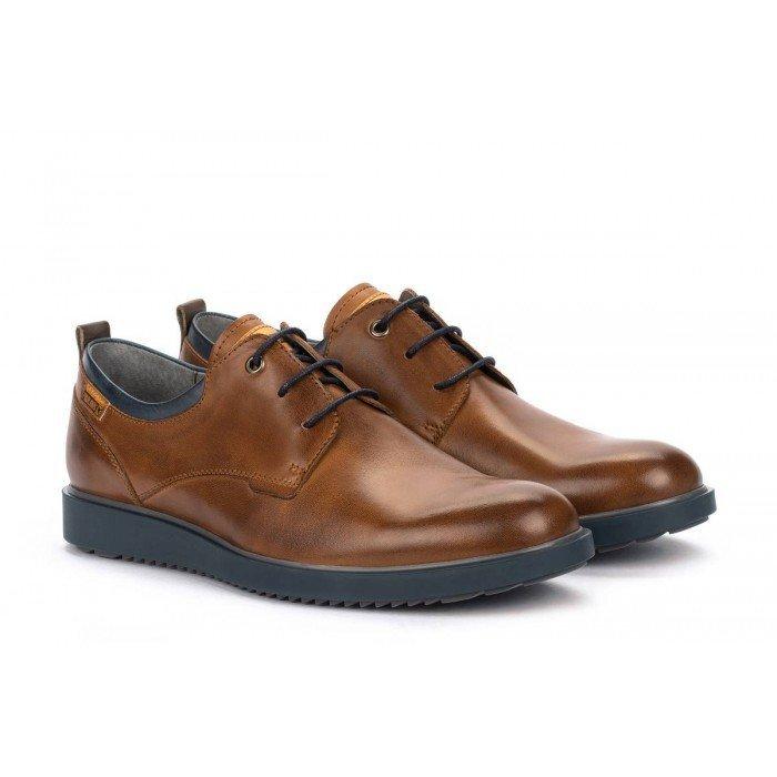 Zapatos Blucher Hombre Pikolinos Corcega M2P-4325 Cuero