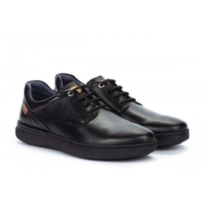 Zapatos Blucher Hombre Pikolinos Begur M7P-4326C1 Negro