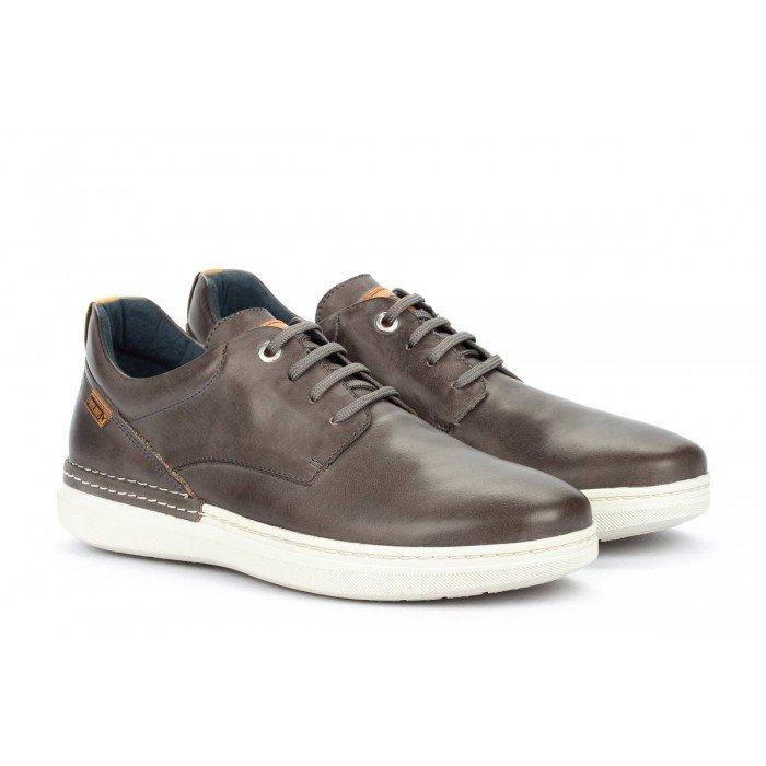 Zapatos Deportivos Hombre Pikolinos Begur M7P-4326 Gris Oscuro