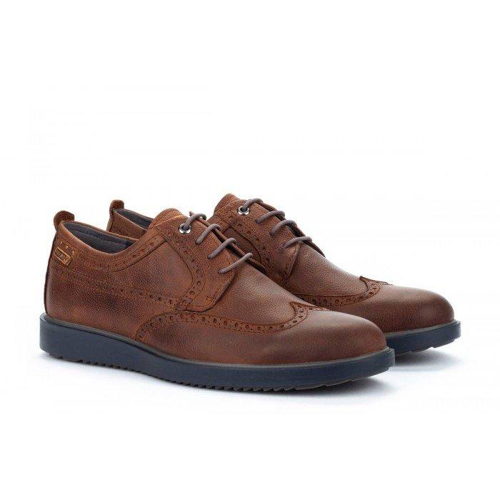 Zapatos Blucher Hombre Pikolinos Corcega M2P-4324NW Cuero