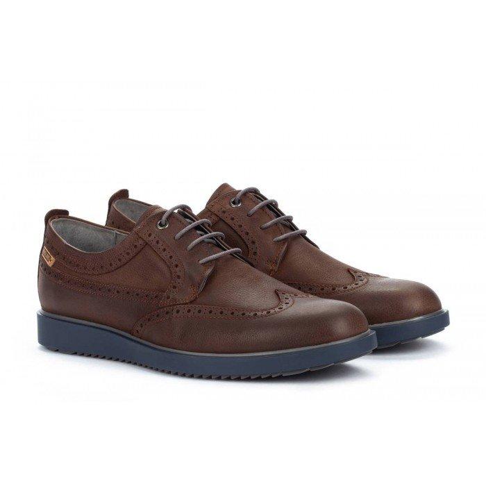 Zapatos Blucher Hombre Pikolinos Corcega M2P-4324NW Marrón