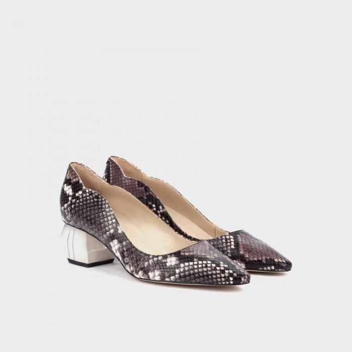 Zapatos Salón Mujer Martinelli Bacall 1451-5627B Morado Purpura