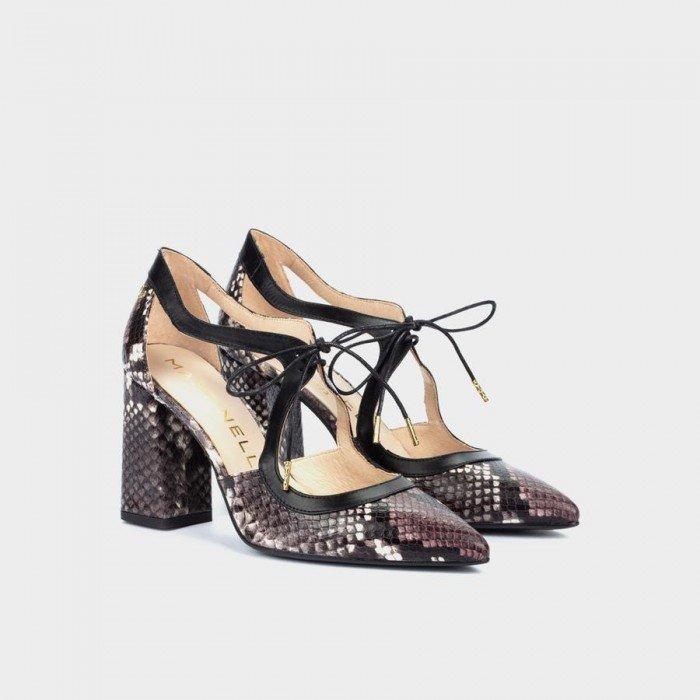 Zapatos Salón Mujer Martinelli Danielle 1424-4537B Morado Púrpura