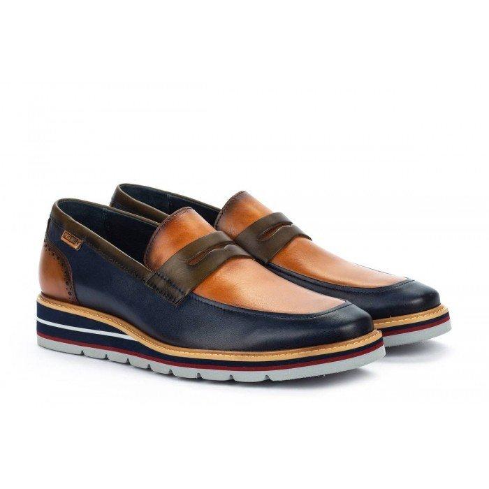 Zapatos Castellanos Hombre Pikolinos Durcal M8P-3194C1 Azul