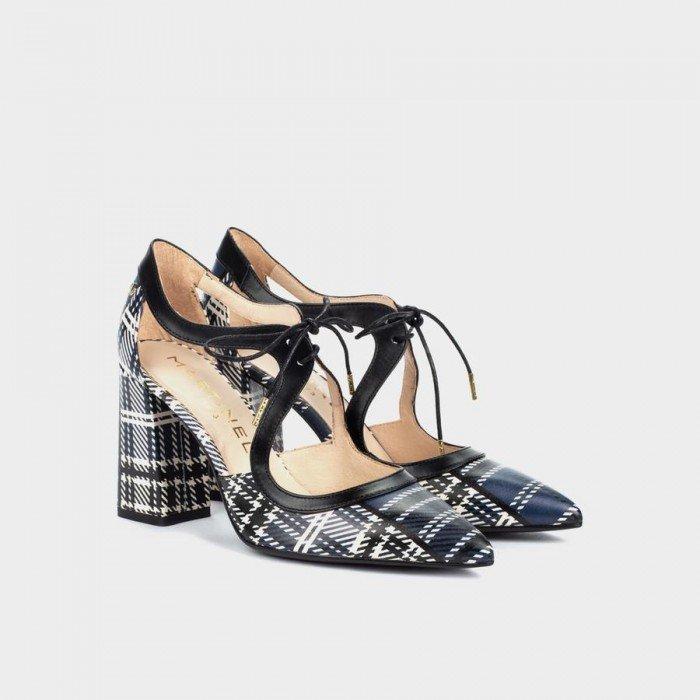 Zapatos Salón Mujer Martinelli Danielle 1424-4537C Azul Marino