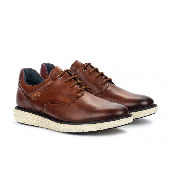 Zapatos Blucher Hombre Pikolinos Amberes M8H-4304 Cuero