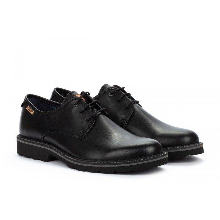 Zapatos Blucher Hombre Pikolinos Bilbao M6E-4333 Negro