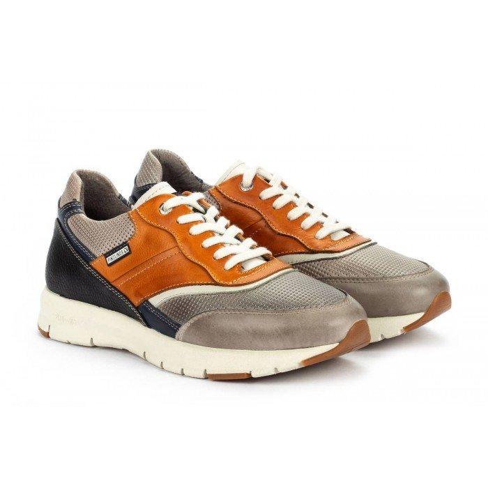 Zapatos Deportivos Hombre Pikolinos Reus M6F-6300C1 Gris