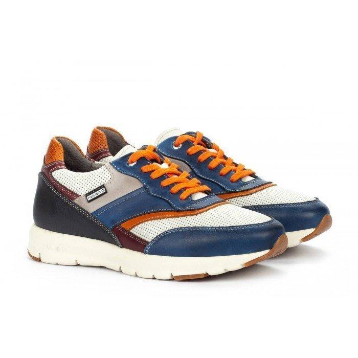 Zapatos Deportivos Hombre Pikolinos Reus M6F-6300C2 Azul