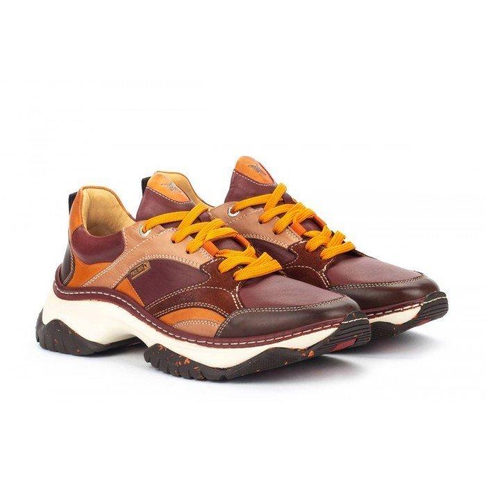 Zapatos Deportivos Hombre Pikolinos Cabanes M2R-6298C2 Marrón Arcilla
