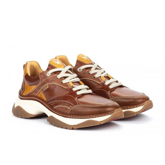 Zapatos Deportivos Hombre Pikolinos Cabanes M2R-6298C1 Cuero