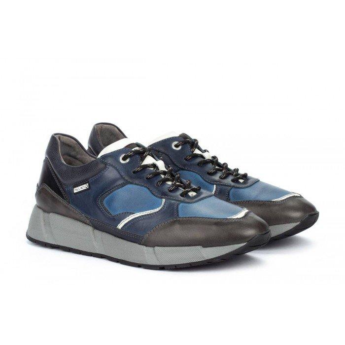 Zapatos Hombre Deportivos Pikolinos Meliana M6P-6283C1 Azul