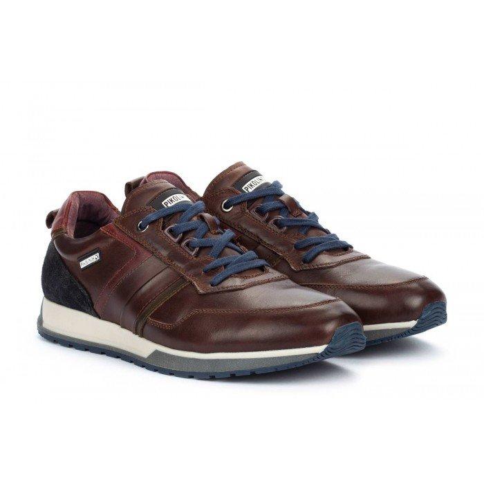 Zapatos Deportivos Hombre Pikolinos Cambil M5N-6280C1 Marrón