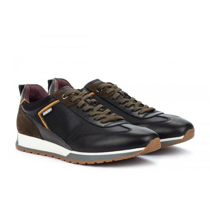 Zapatos Deportivos Hombre Pikolinos Cambil M5N-6282C1 Negro