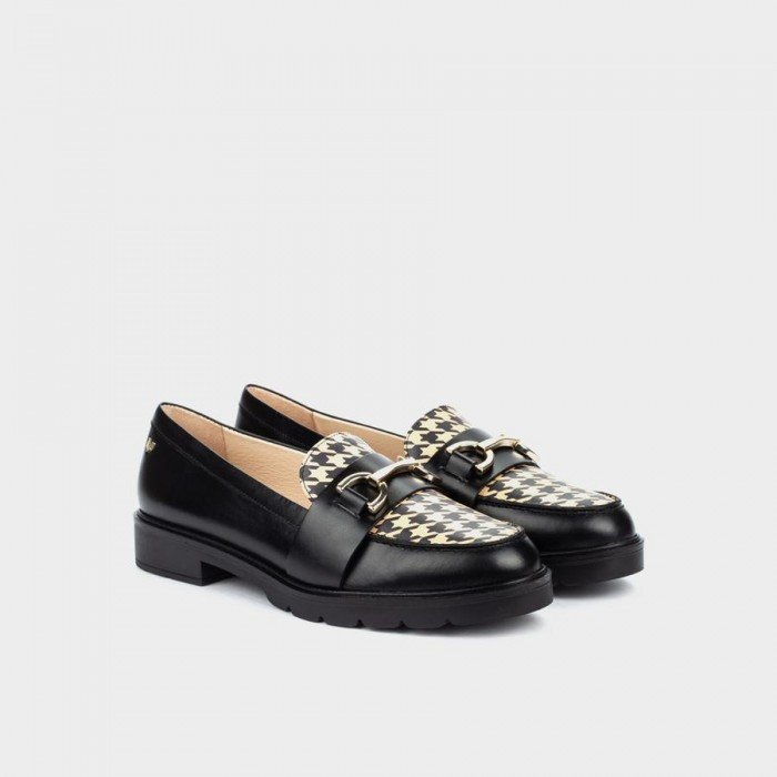 Zapato Mocasín Mujer Martinelli Derek 1449-5555NG Negro