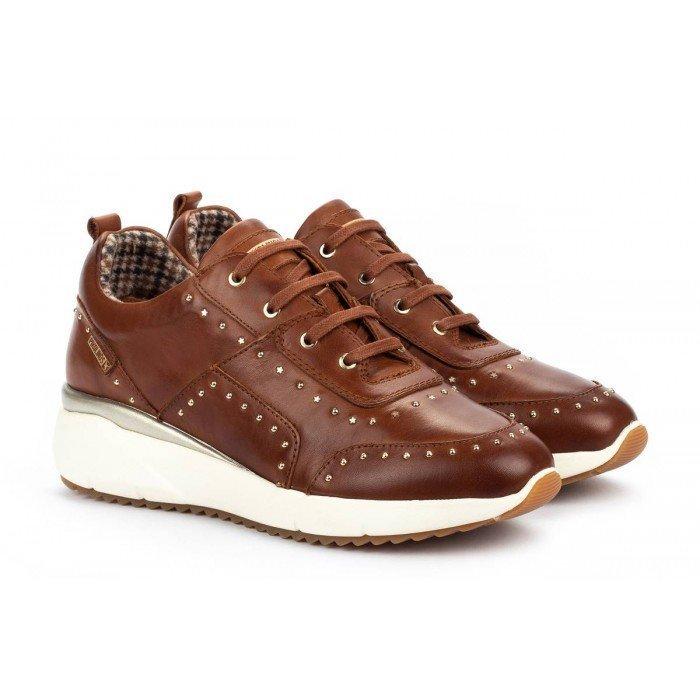 Zapatos Deportivos Mujer Pikolinos Sella W6Z-6806 Cuero