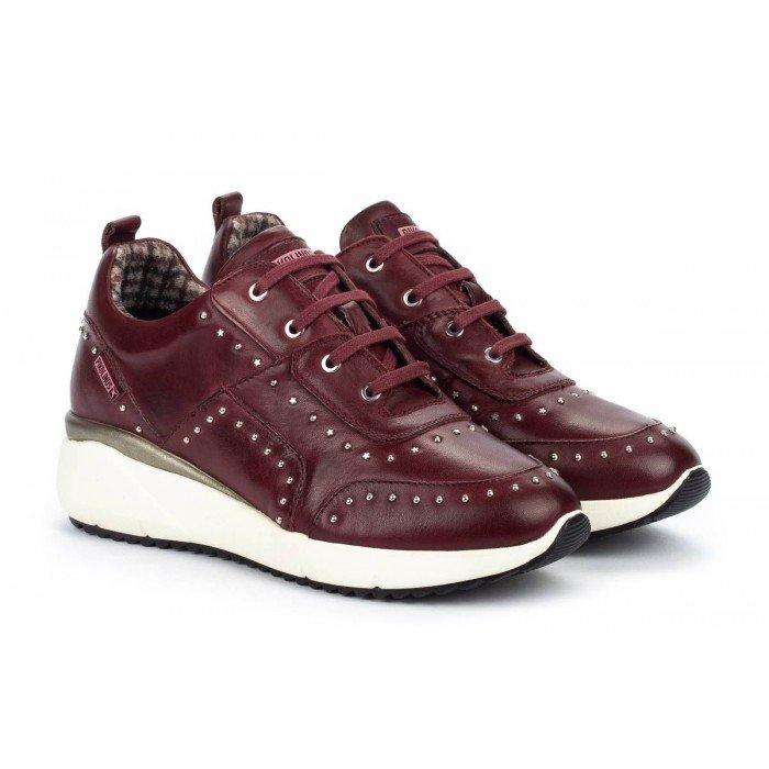 Zapatos Deportivos Mujer Pikolinos Sella W6Z-6806 Burdeos