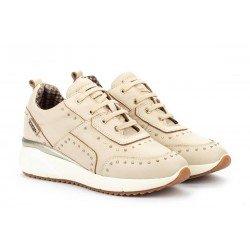 Zapatos Deportivos Mujer Pikolinos Sella W6Z-6806 Blanco Marfil
