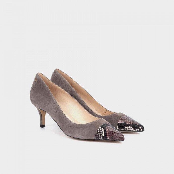 Zapatos Salón Mujer Martinelli Turia 1376-4206AB Gris