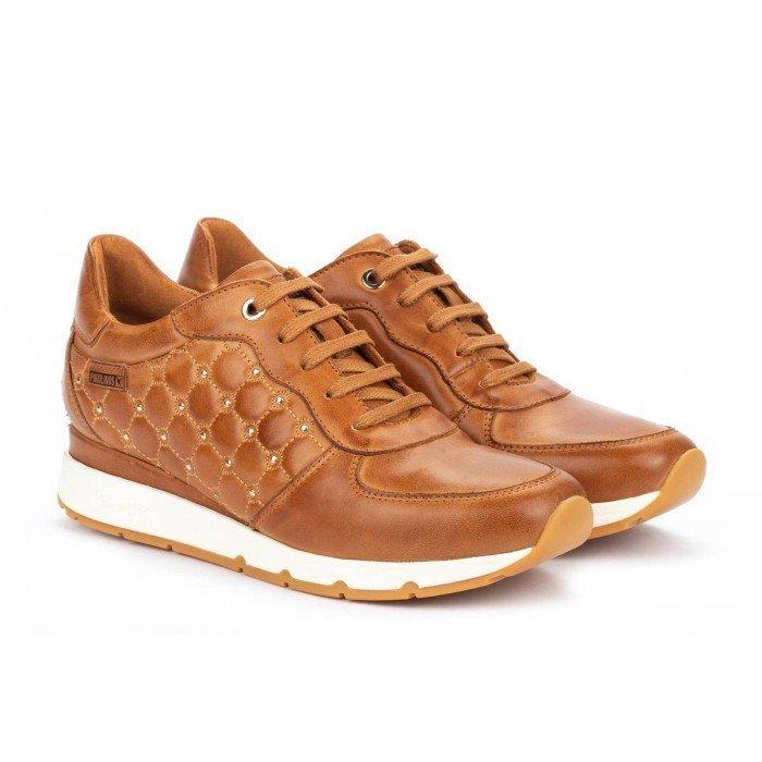 Zapatos Deportivos Mujer Pikolinos Mundaka W0J-6826 Brandy