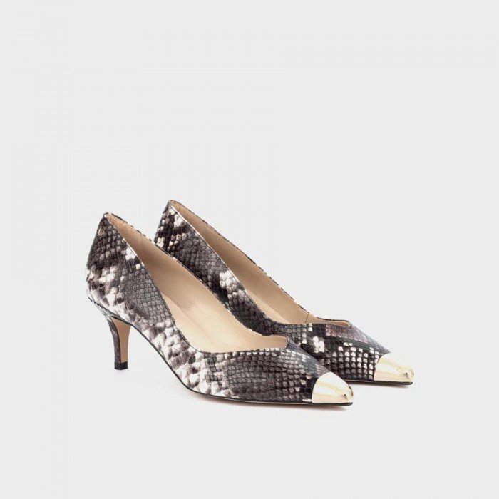 Zapatos Salón Mujer Martinelli Turia 1376-5545B Morado Púrpura