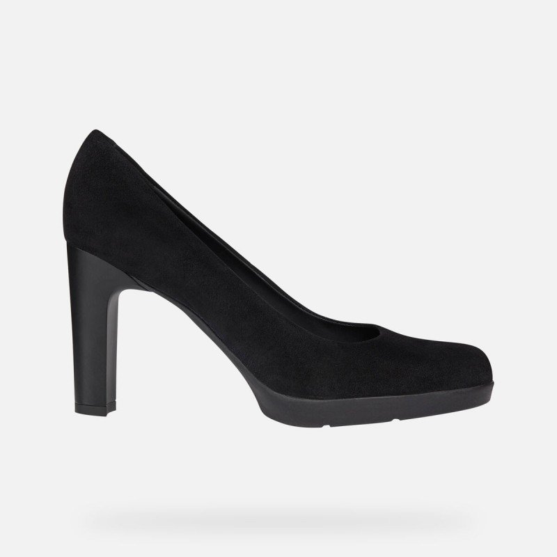 Elegantes zapatos mujer Geox Annya de salón tacón alto color