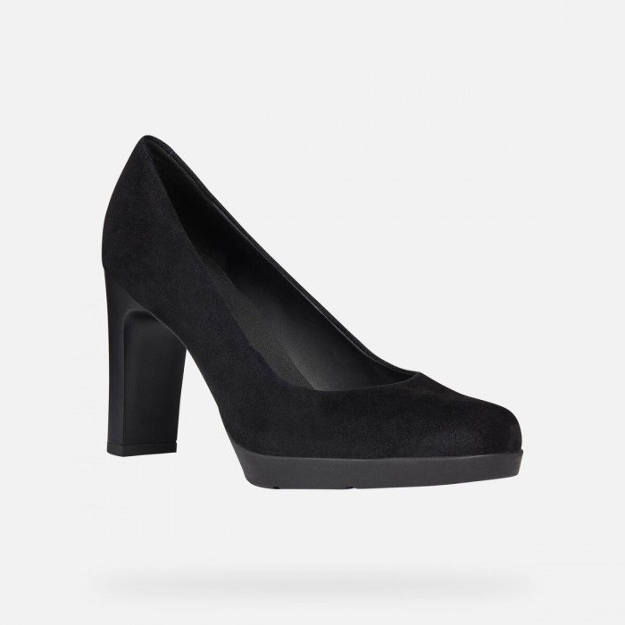 zapatos geox salon mujer blancas
